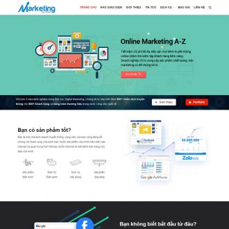 theme wordpress marketing