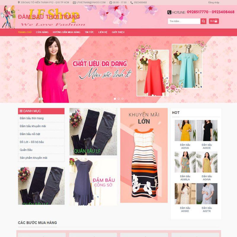 Theme wordpress bán quần áo thời trang