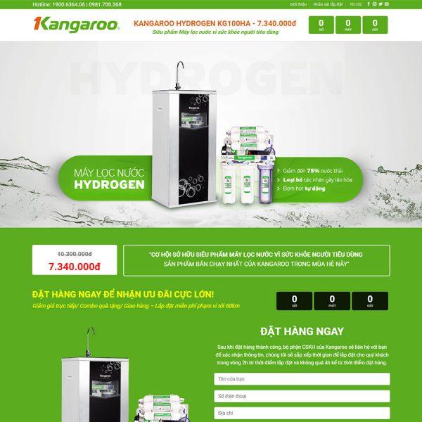 theme wordpress bán lọc nước