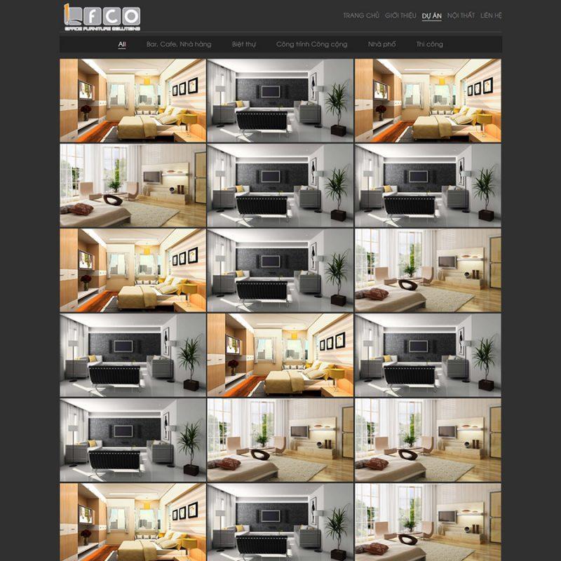 Theme wordpress công ty kiến trúc