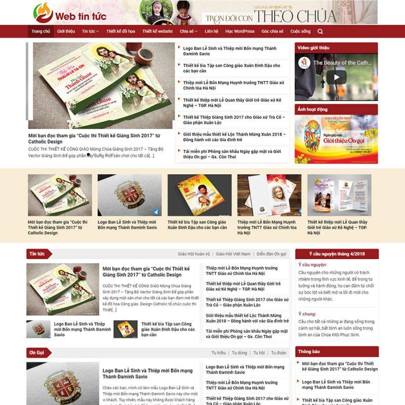 Theme wordpress tin tức 03