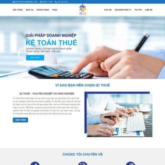 theme wordpress dịch vụ kế toán