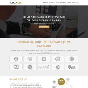 theme wordpress bán khóa học