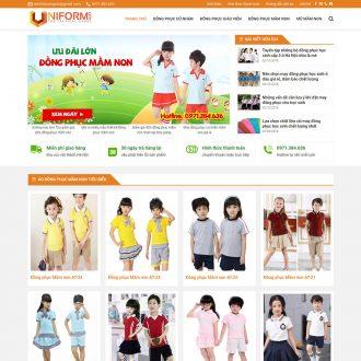 theme wordpress bán quần áo