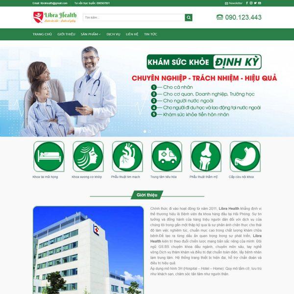 theme flatsome bệnh viện