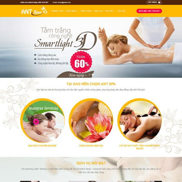 theme wordpress spa