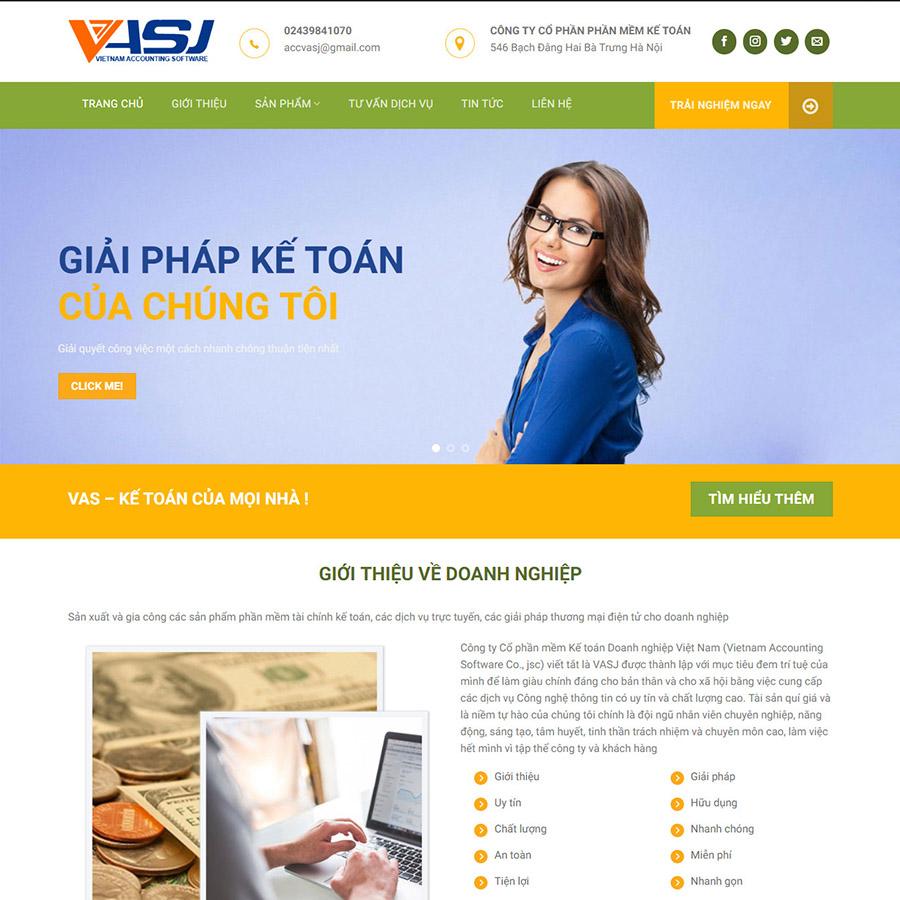 theme wordpress công ty kế toán
