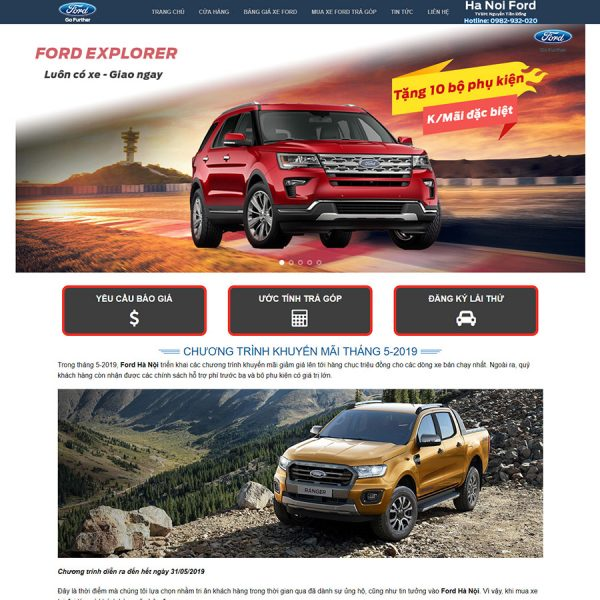 Theme wordpress xe ford