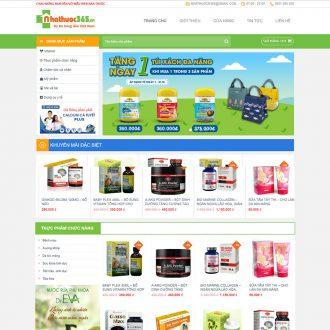 Theme wordpress công ty dược phẩm
