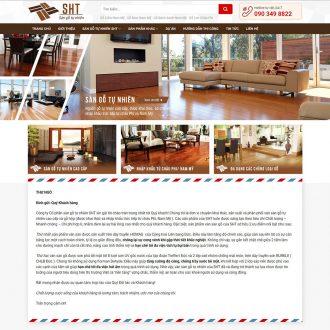 Theme wordpress bán đồ gỗ