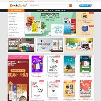 Theme wordpress bán sách