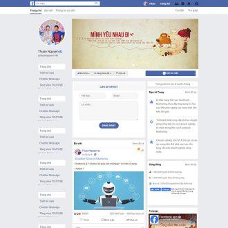 Theme wordpress facebook