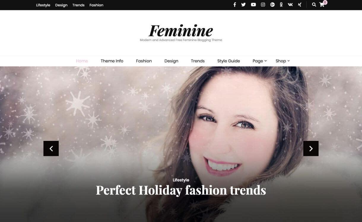 Blossom Feminine - theme WordPress responsive miễn phí