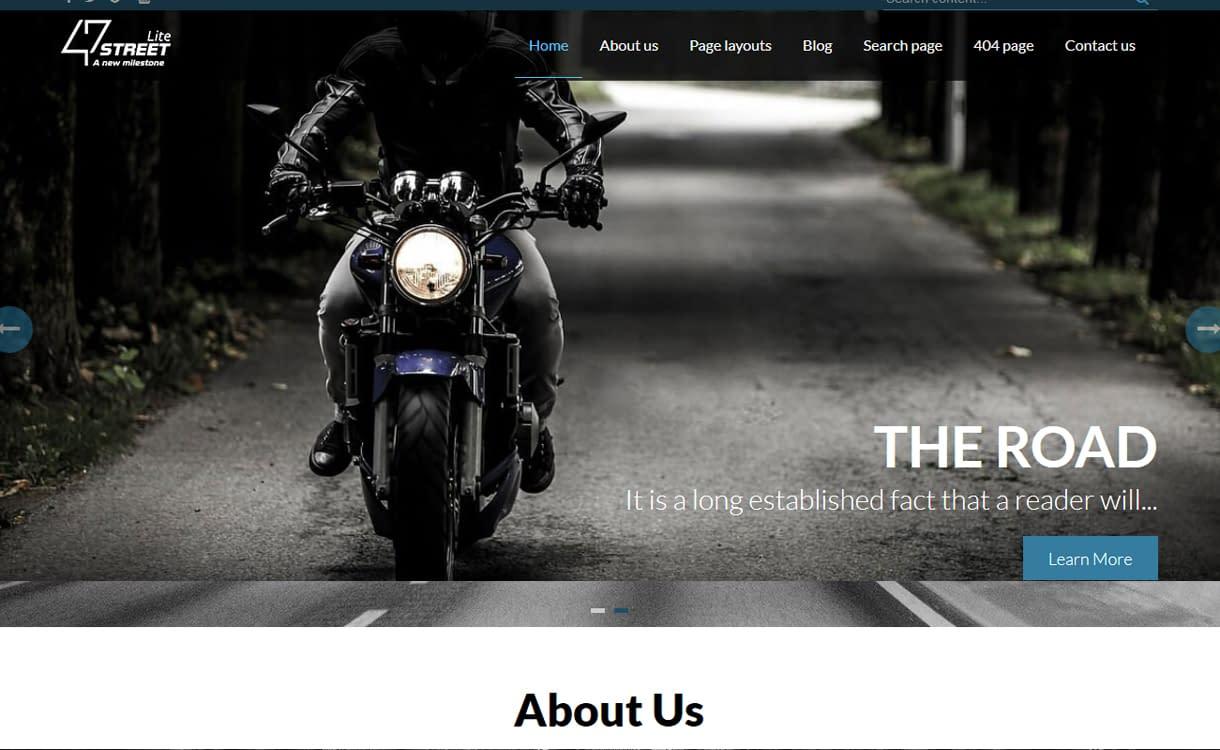FortySeven Street - theme WordPress miễn phí
