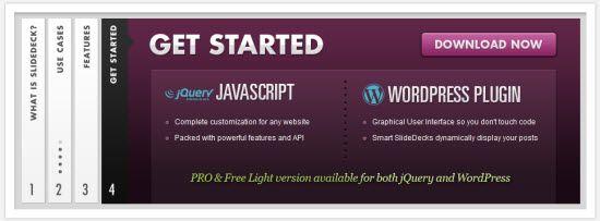 Slidedeck 1 - Plugin tạo slide ảnh cho wordpress đẹp nhất