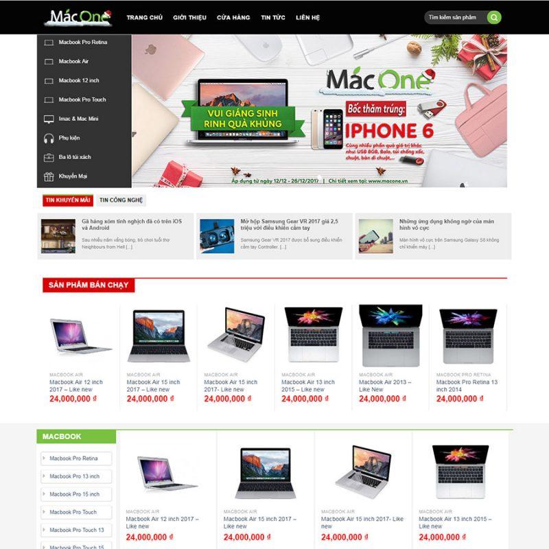Theme wordpress bán máy tính - laptop