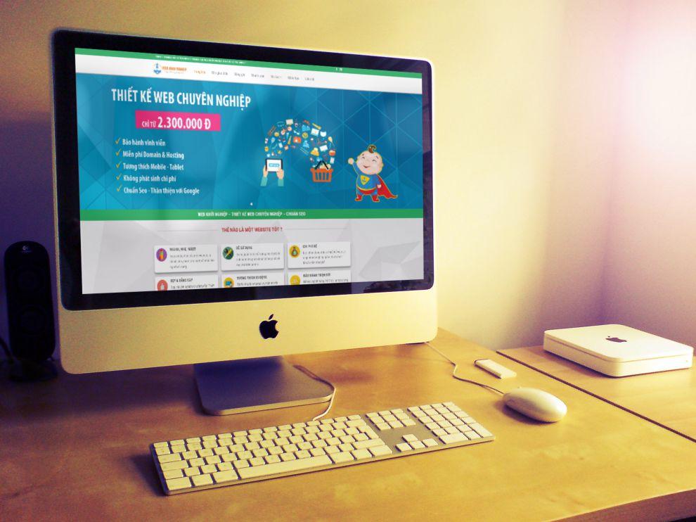 Dịch vụ thiết kế web nha trang chất lượng