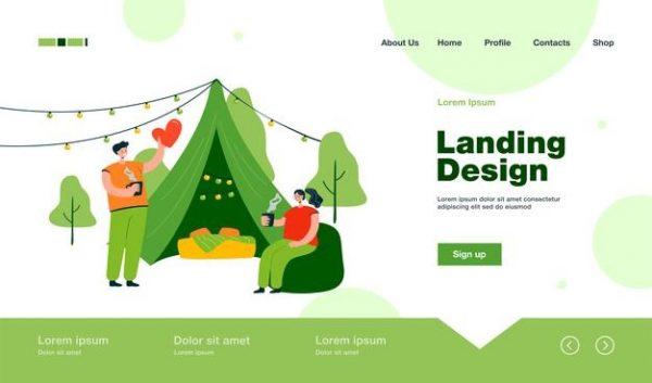 Landing page giúp tăng giá trị thương hiệu
